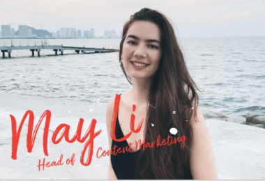 Team LottieFiles: May Li Leow, Head of Content Marketing