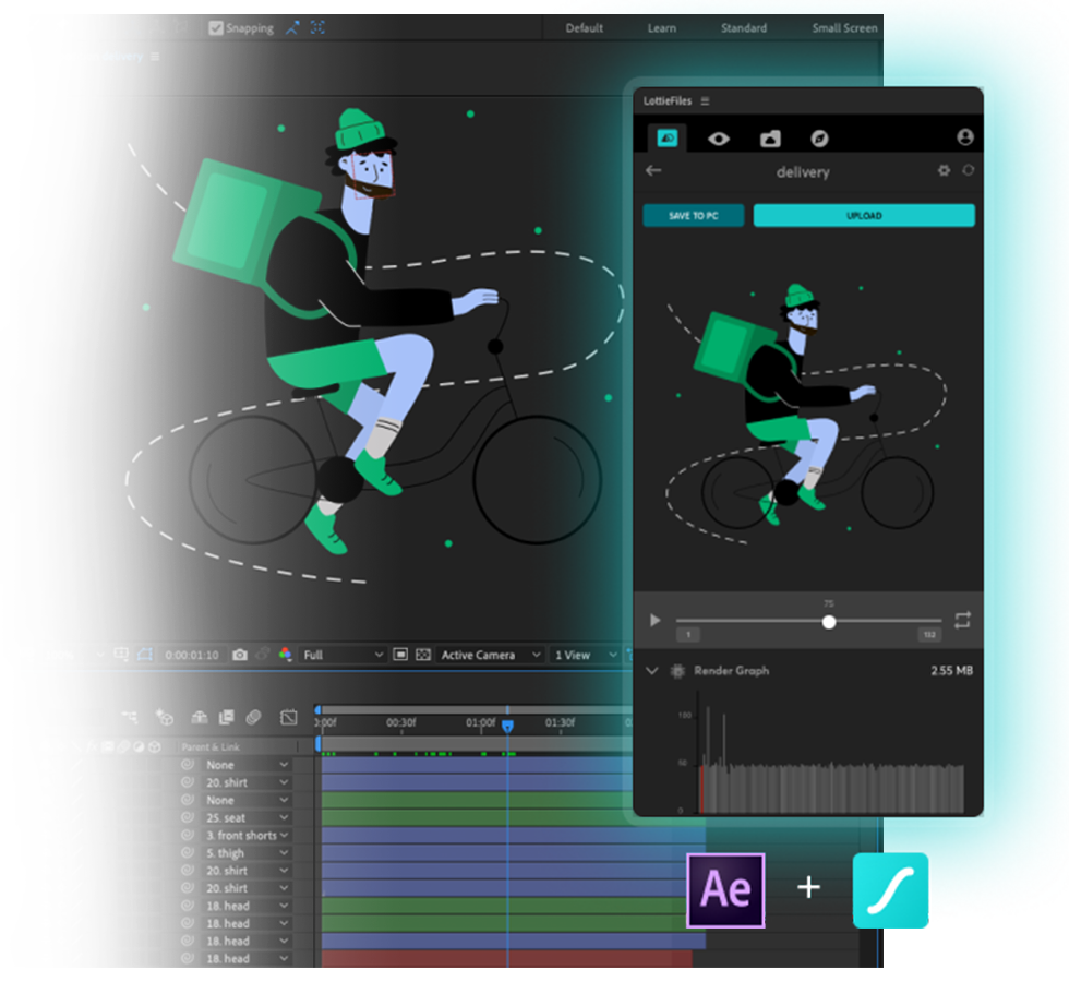 The LottieFiles Plugin for Adobe After Effects