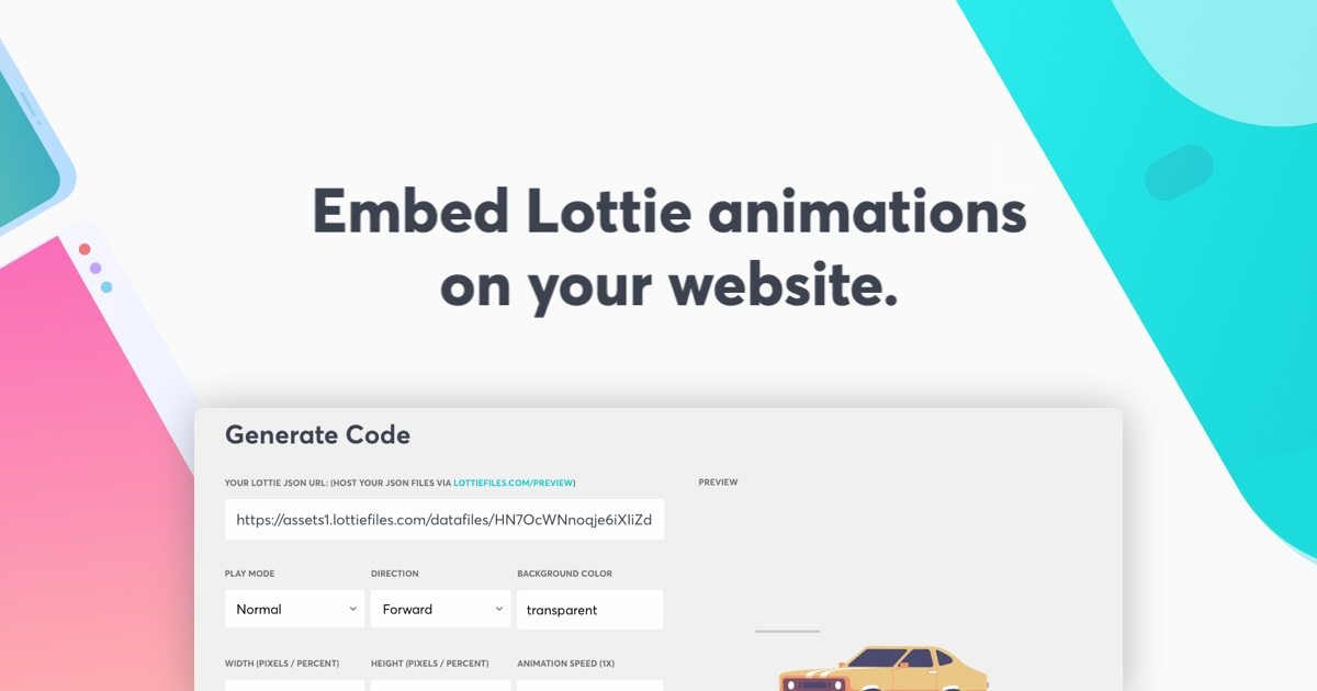 Lottie Web Player - Lottiefiles